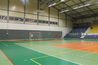Basketball Trainingslager im Sportzentrum in Teplice (Tschechien)
